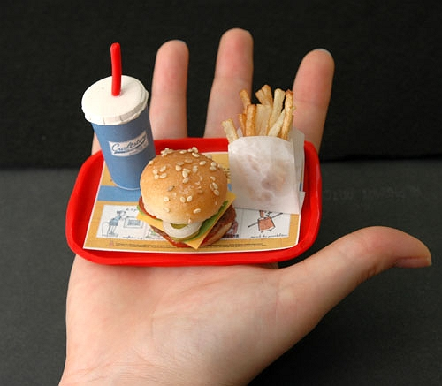 Los peligros de la comida rápida