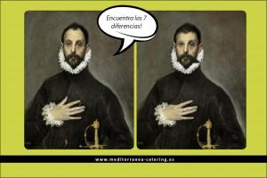 En Mediterránea conmemoramos el aniversario de la muerte del Greco realizando actividades lúdicas en los comedores de los colegios