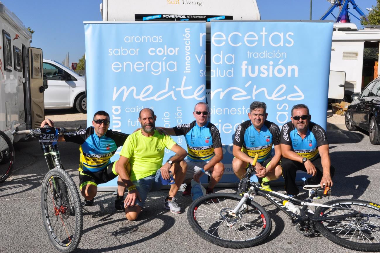 Acompañamos a los corredores hasta Lisboa en la carrera ciclista Powerade Madrid – Lisboa MTB NONSTOP