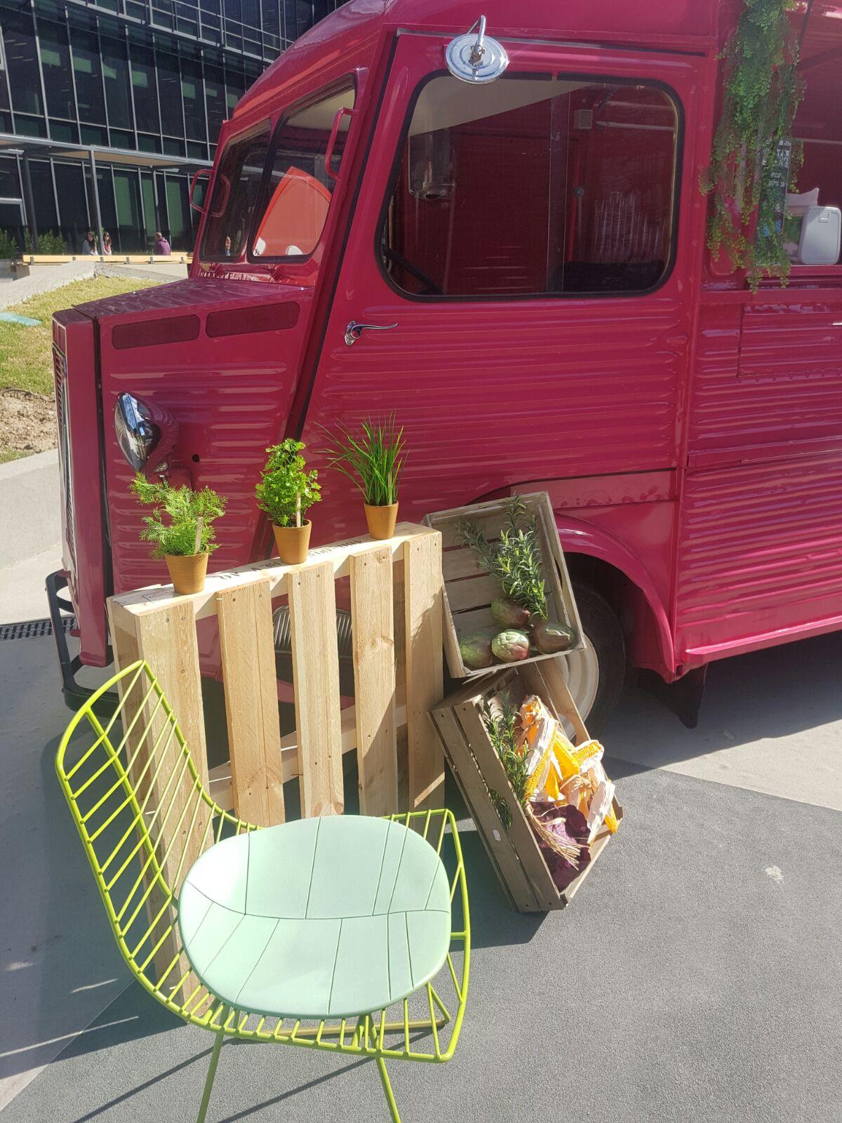 Los Food Trucks de Mediterránea viajan hasta Vodafone