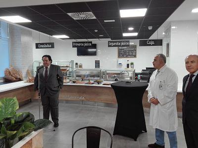 Mediterránea estrena su nueva cafetería en el Hospital Universitario Miguel Servet de Zaragoza