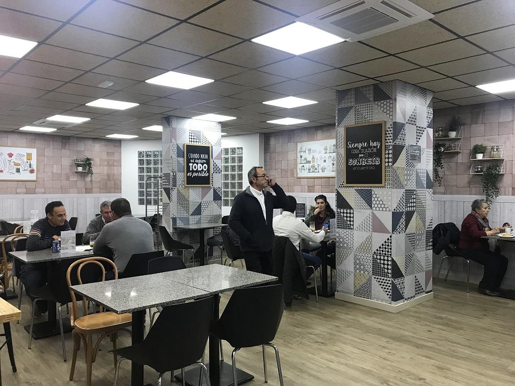 Abrimos la nueva cafetería del Hospital de San Agustín de Linares