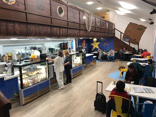 Reformamos las cafeterías de público y personal del Hospital Niño Jesús