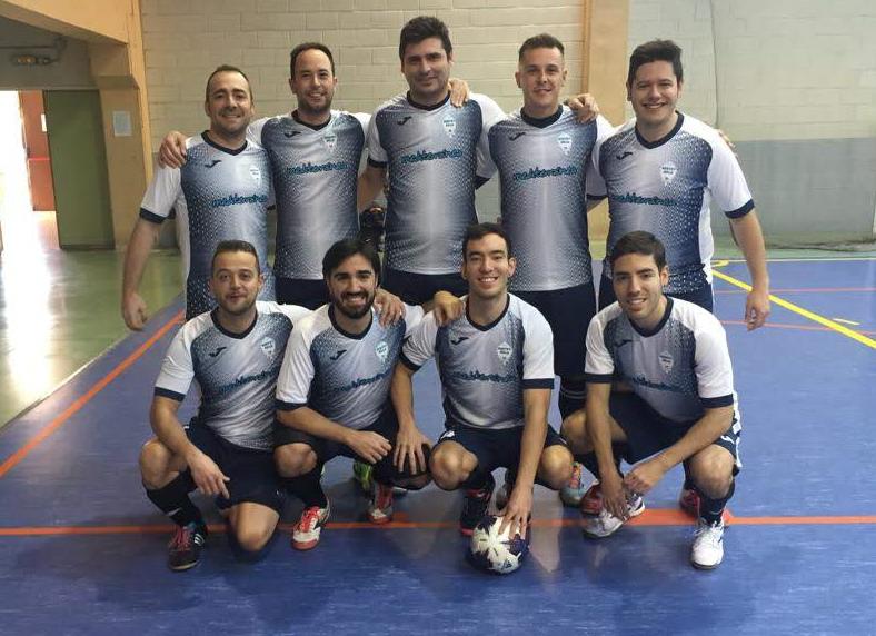 Mediterránea patrocina al equipo de fútbol del Hospital Miguel Servet de Zaragoza
