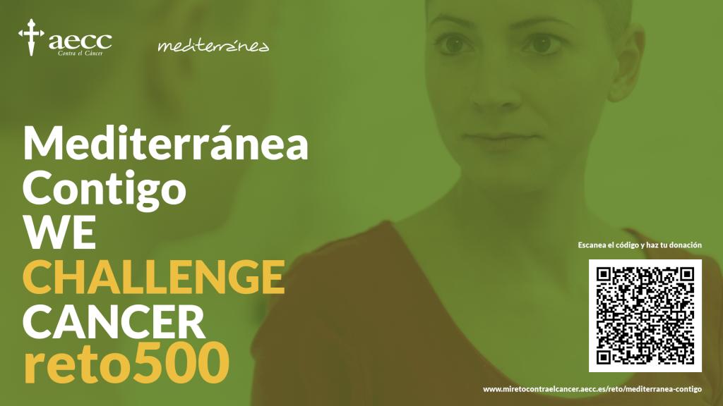 Reto Aecc 500 cáncer lucha mediterránea solidaria