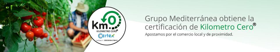Mediterránea obtiene certificación Kilómetro Cero