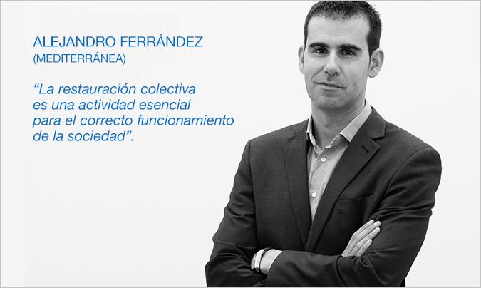Restauración News entrevista a Alejandro Ferrández, Director del Área de Salud